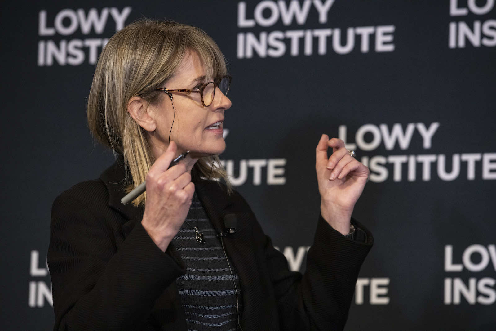 Alex Oliver, Director of Research at the Lowy Institute (Peter Morris/Sydney Heads)