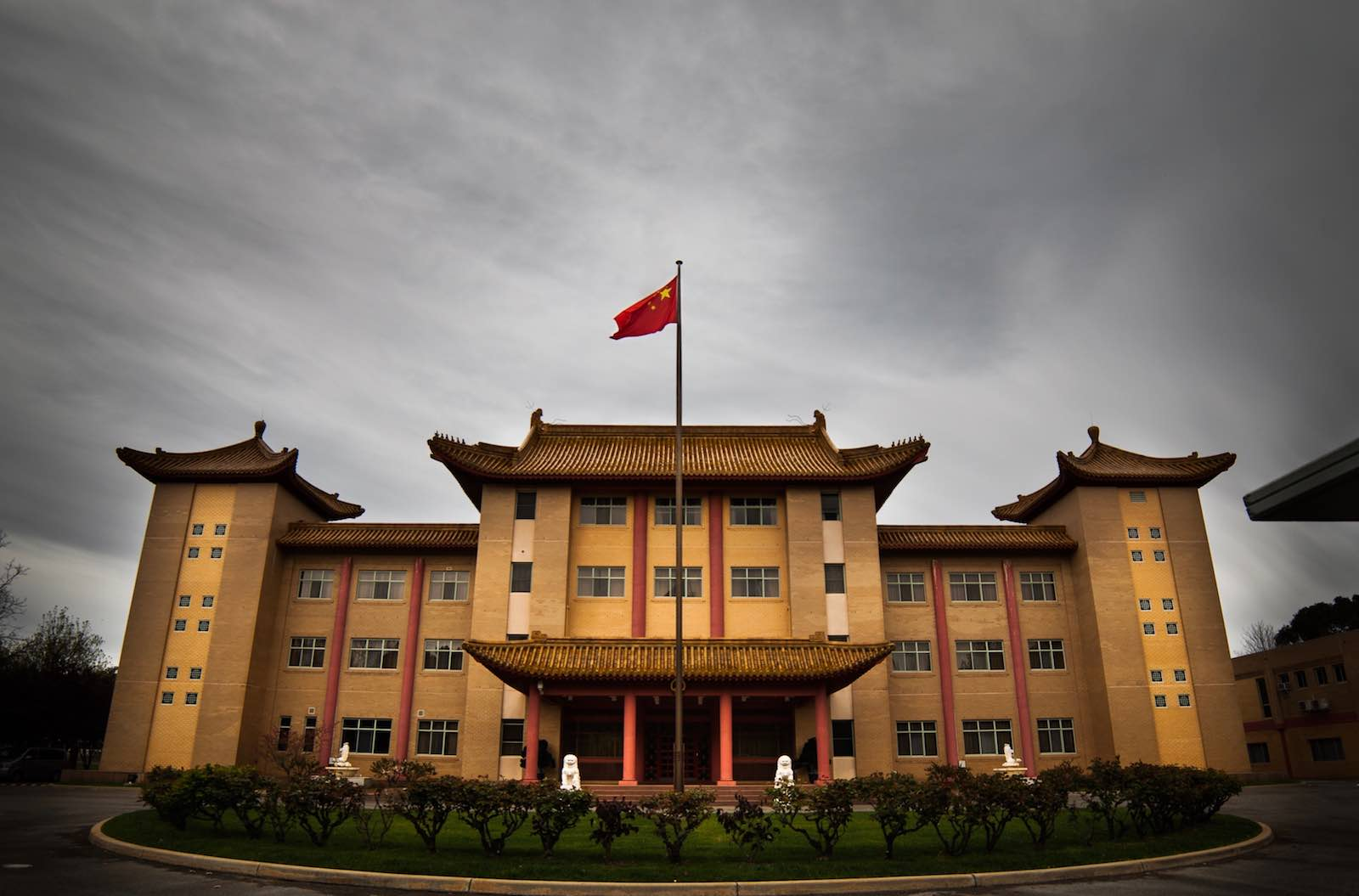 Chinese embassy in Canberra (Photo: David Burke/Flickr)