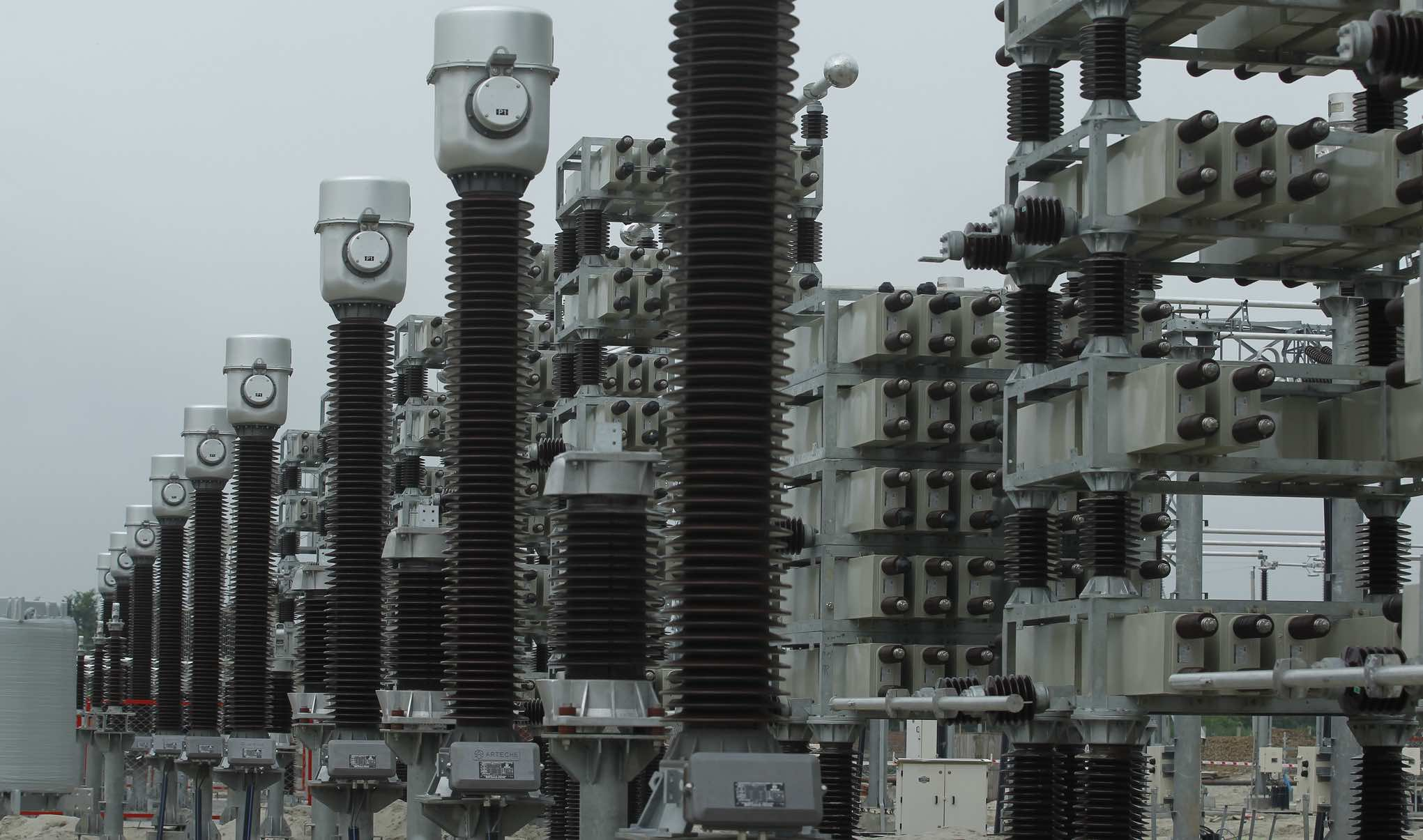 Electricity pylons in Bangladesh (Photo: Asian Development Bank/Flickr)