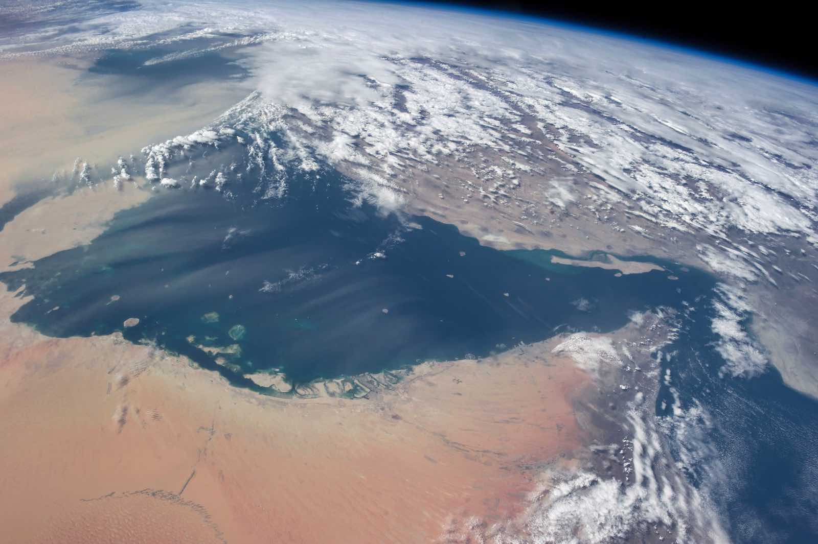 The Persian Gulf (Photo: Stuart Rankin/NASA via Flickr)