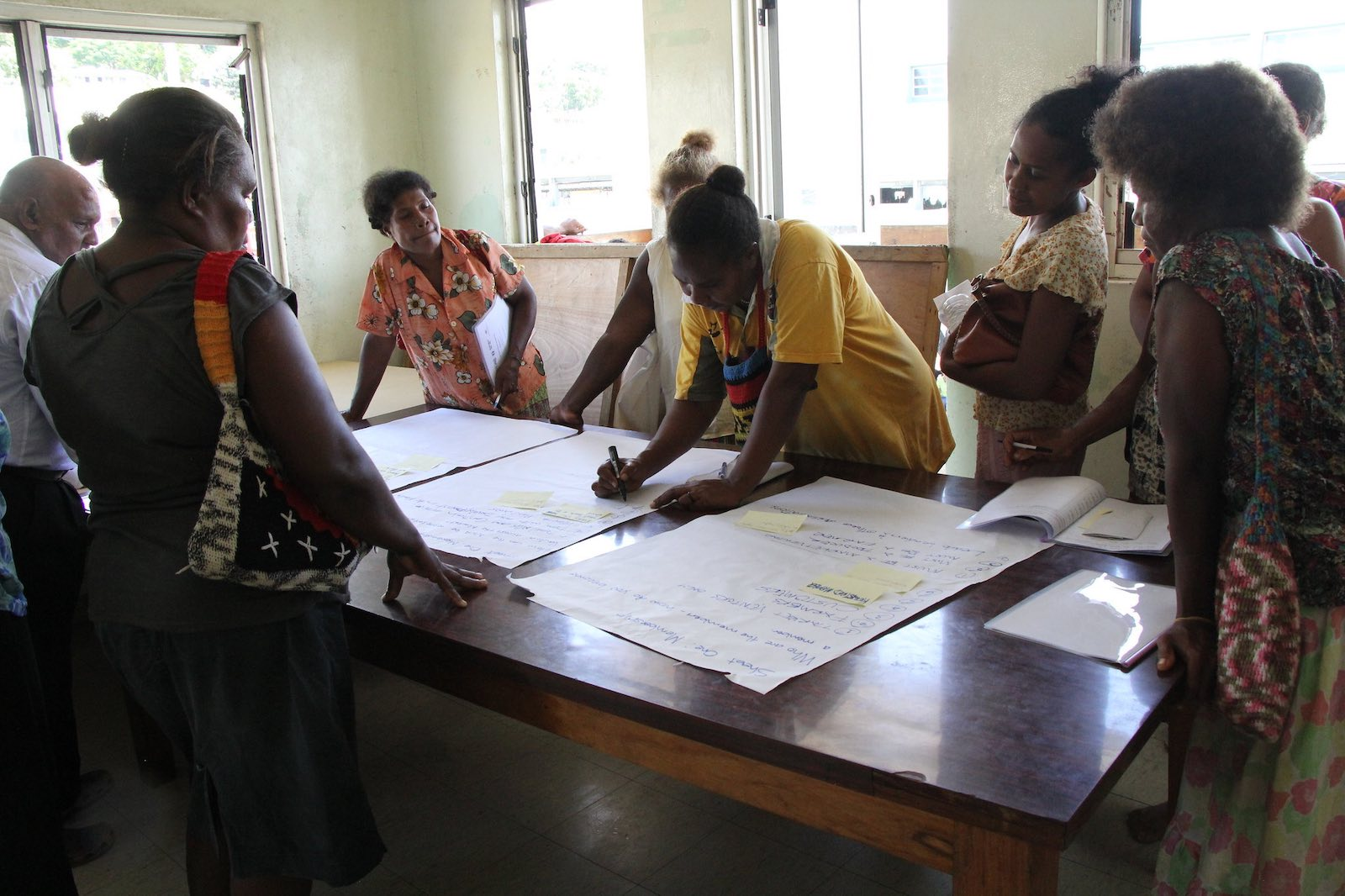 Participants in a 2014 workshop to improve the role of women in the Solomons economy (Photo: UN Women/Flickr)