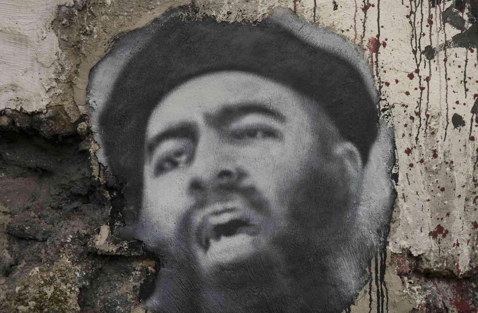Portrait of Abu Bakr al-Baghdadi (Photo:Thierry Ehrmann/Flickr)