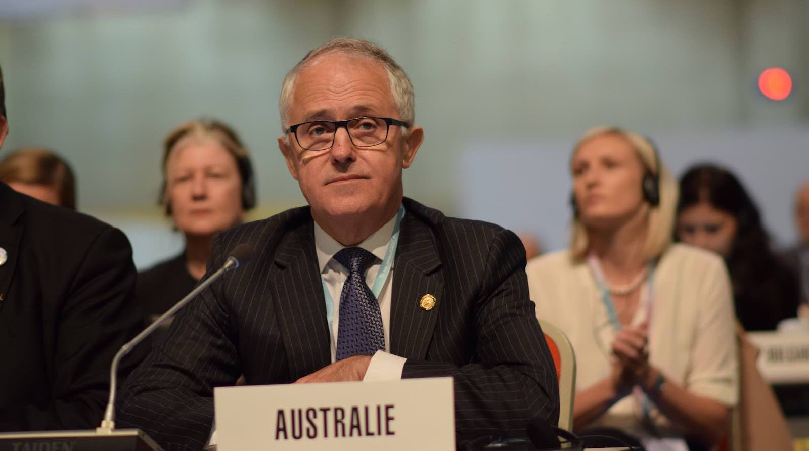 Australian Prime Minister Malcolm Turnbull (Photo: Veni/Flickr)