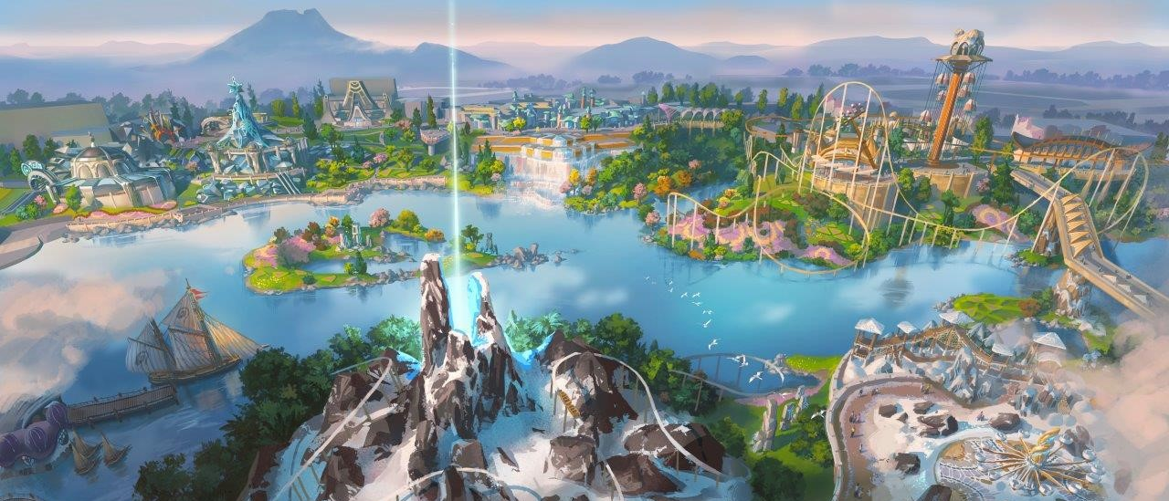 An artist's impression of the completed Lido Lakes resort in Java (Photo: MNC Land)