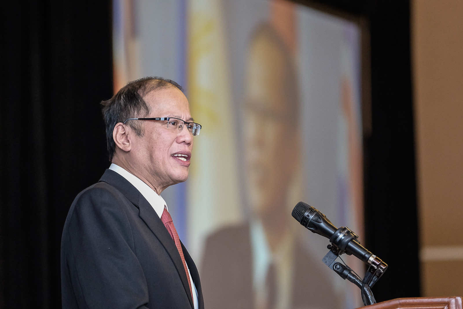 President Benigno S. Aquino III of the Philippines during a 2015 visit to Canada (Province of British Columbia/Flickr)