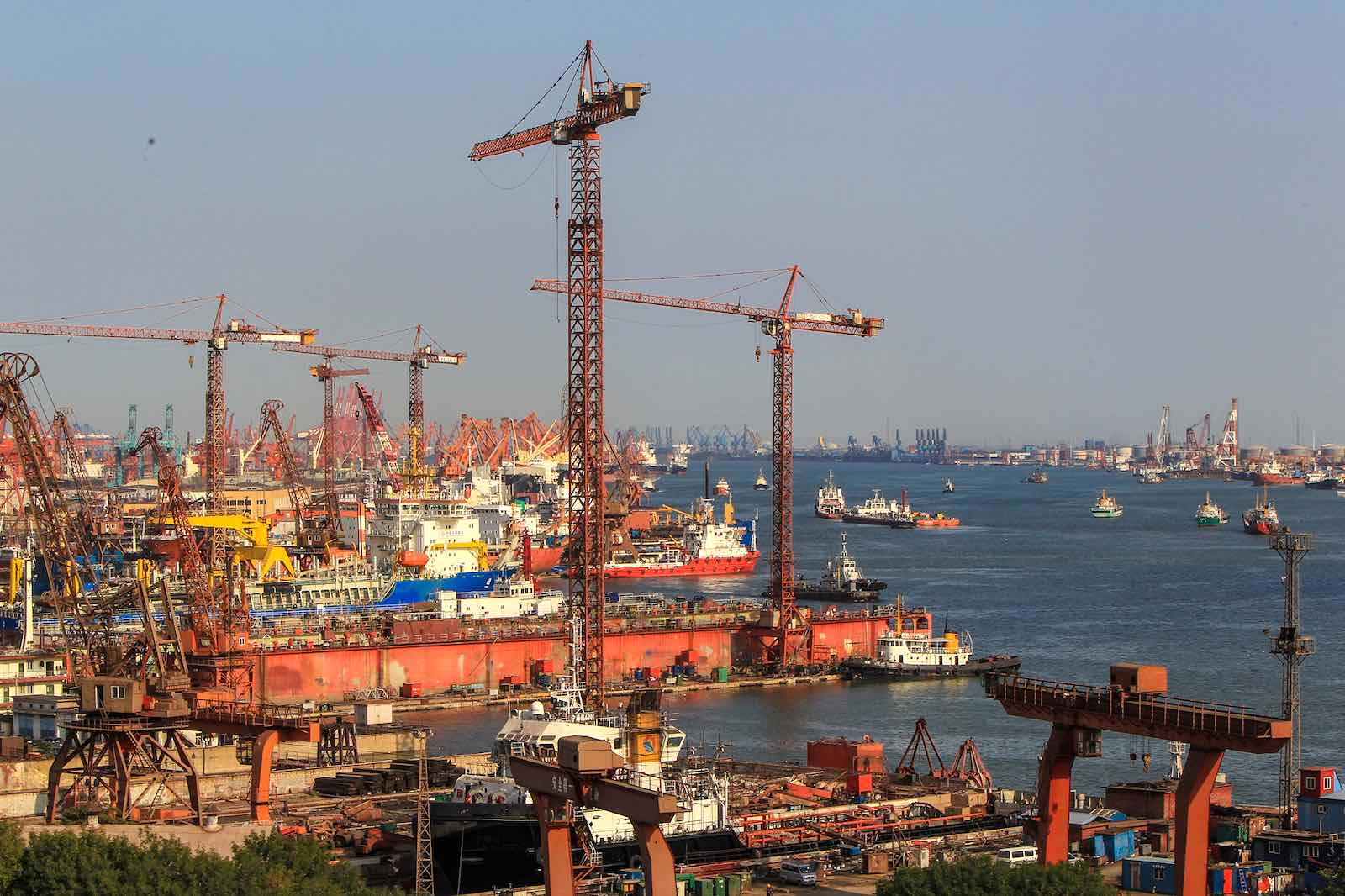 The Port of Tianjin, the largest port in northern China and the main maritime gateway to Beijing (Photo: ADB/Flickr)