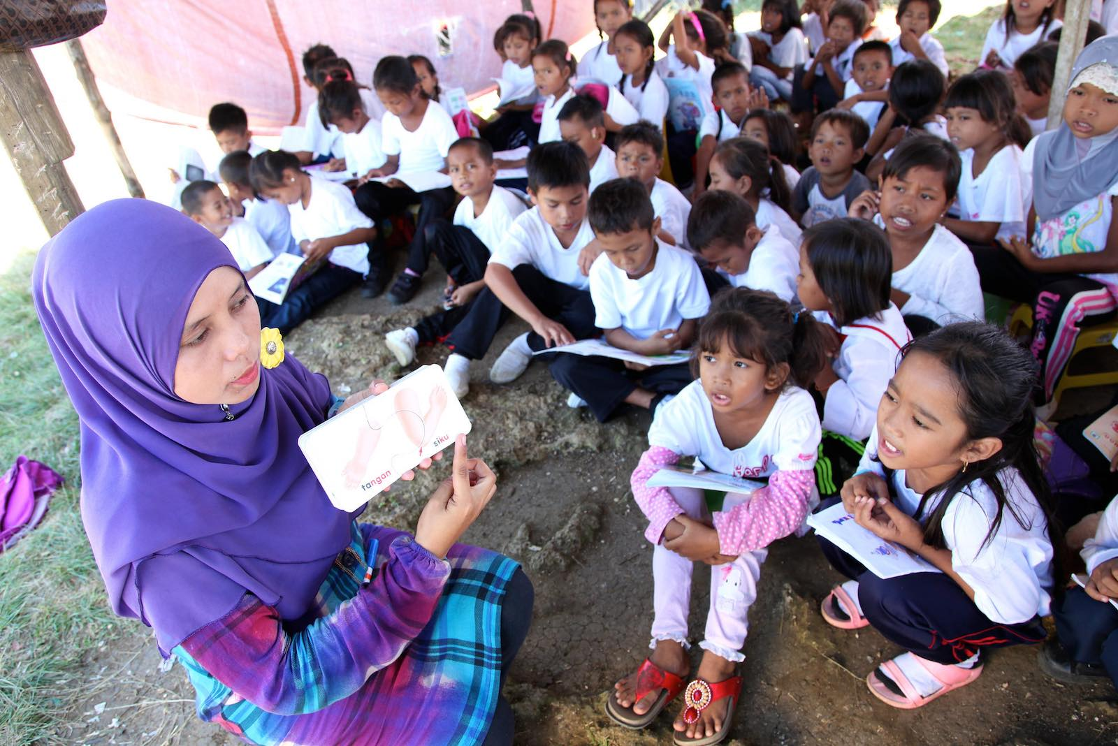 Without documents, children of the Bajau Laut community in Sabah, East Malaysia, cannot attend school (Photo: PKPKM Lahad Datu and Semporna/Flickr)