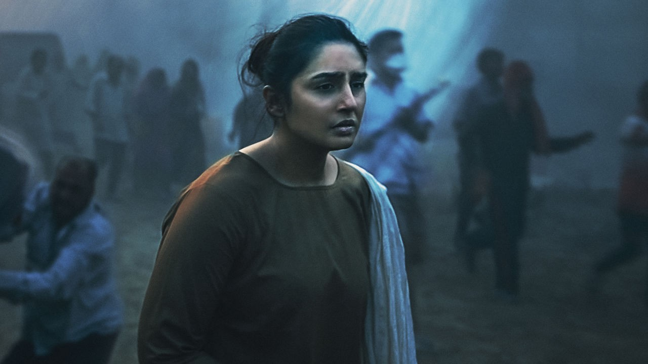 "The bleak future in India depicted in a scene from Netflix series ""Leila"" (Photo: Netflix)"