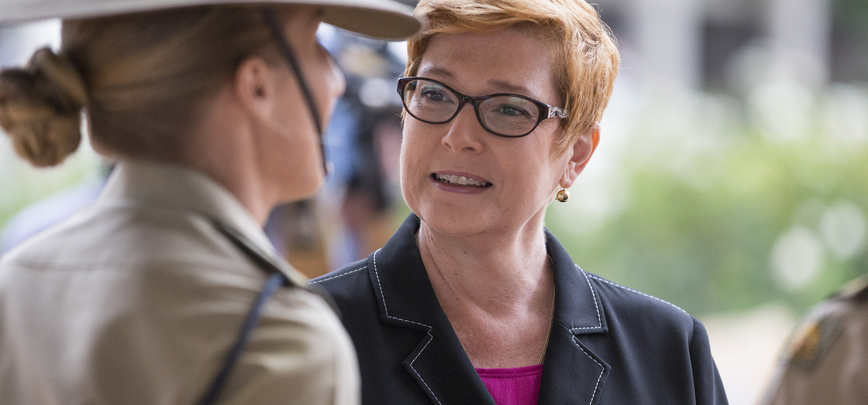 Australian Defence Minister Marise Payne at an International Women's Day event (Photo: Commonwealth of Australia/Department of Defence)