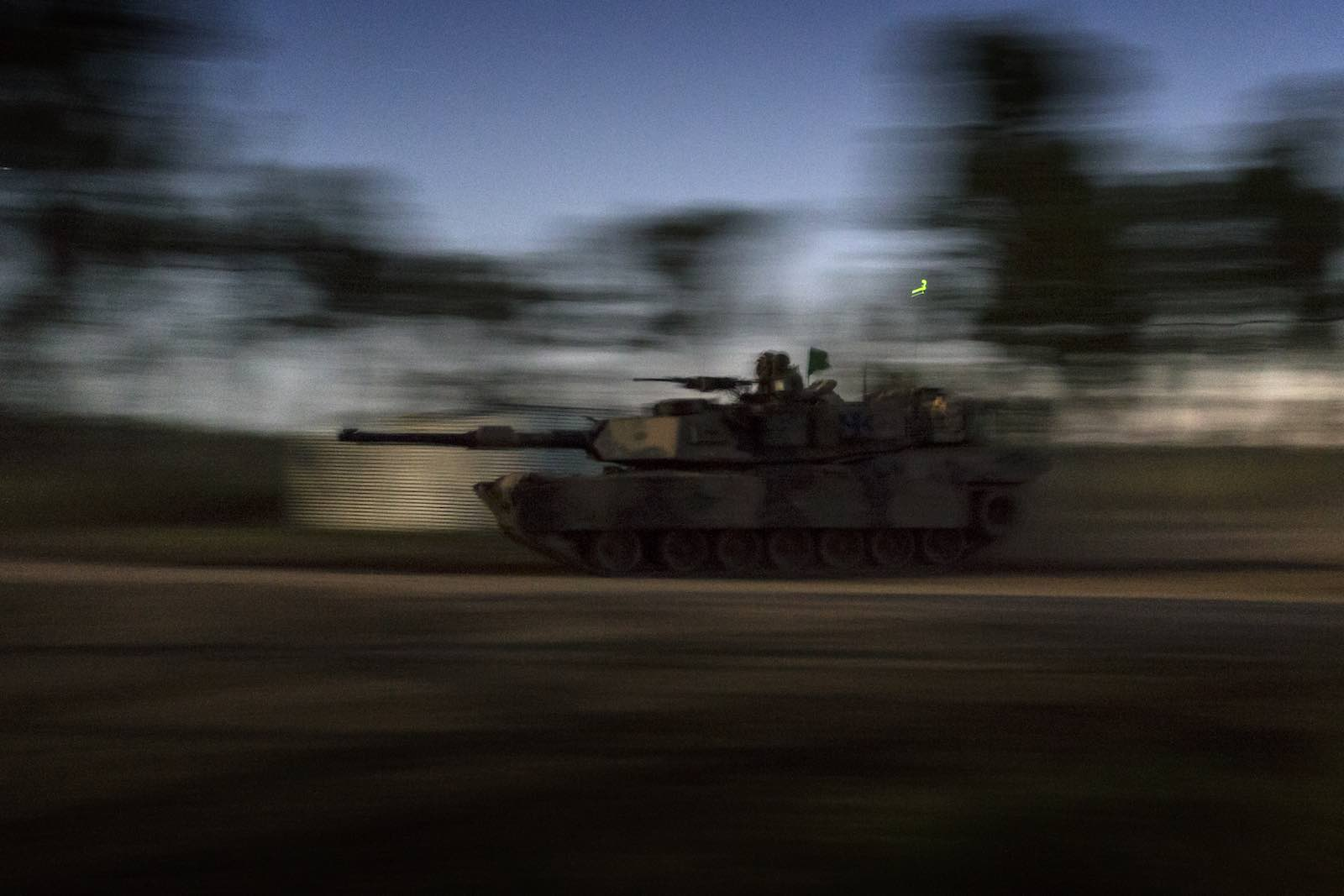 Under a fit-for-purpose assessment, an Abrams tank is clearly overkill for regional peacekeeping operations (Photo: Department of Defence)