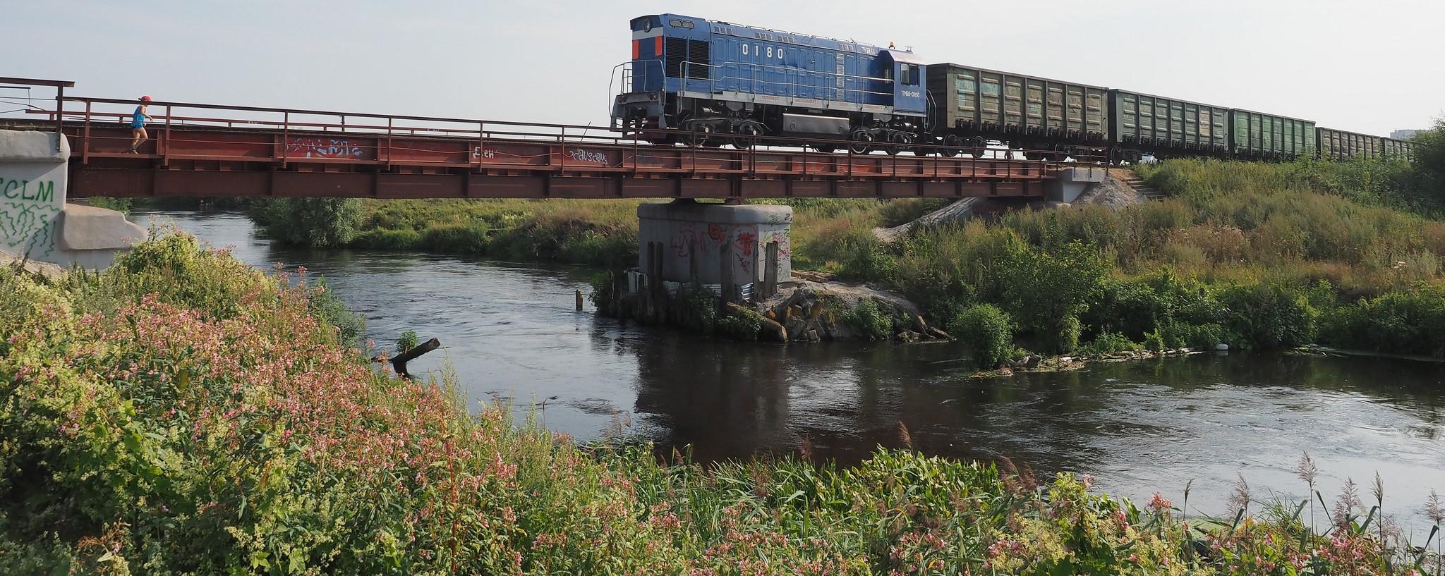 A freight train, Russia, August 2015 (Photo: Flickr/Artem Svetlov)