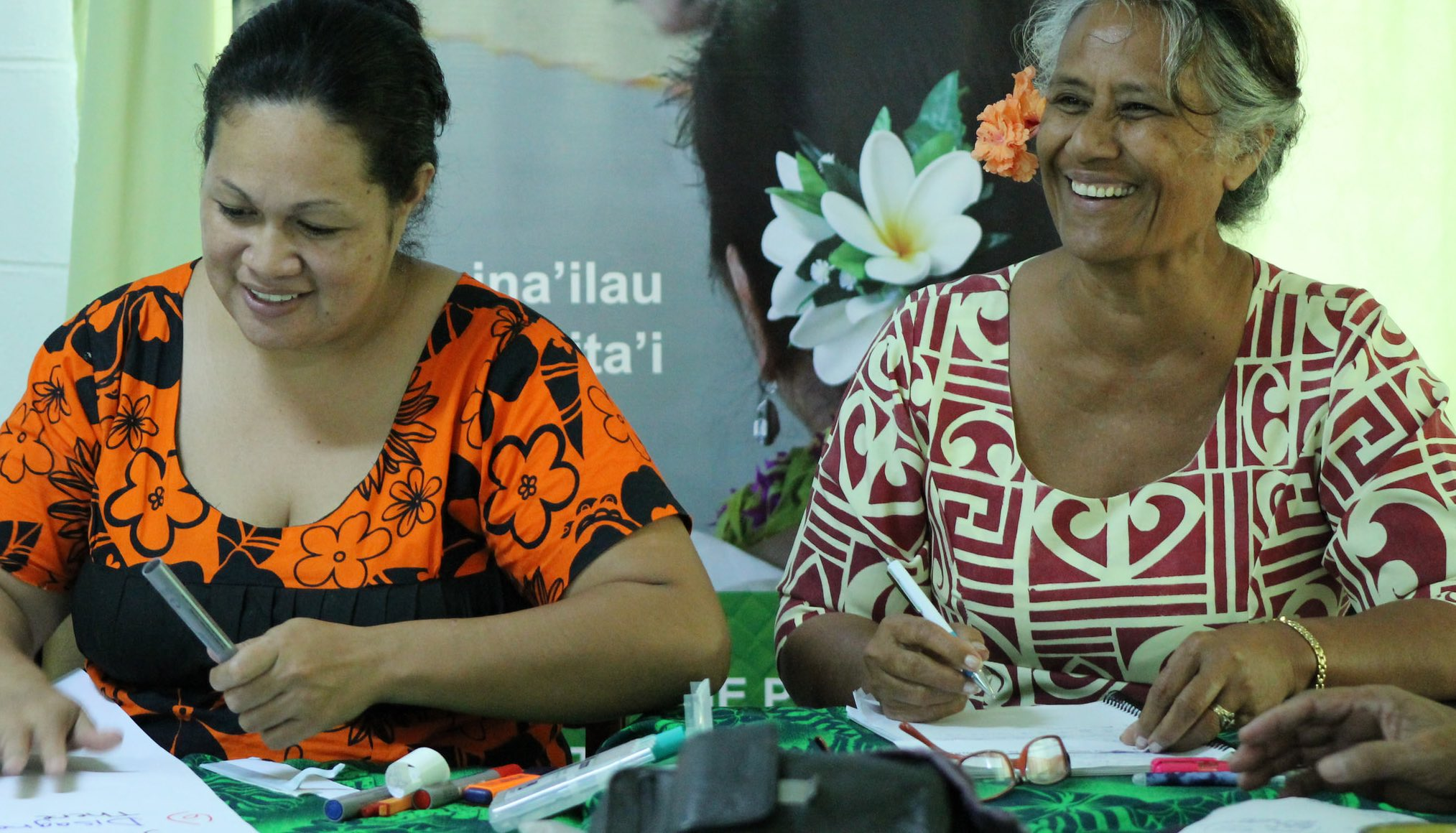 Community outreach training in Samoa (Photo: UN Women Asia and the Pacific/Flickr)
