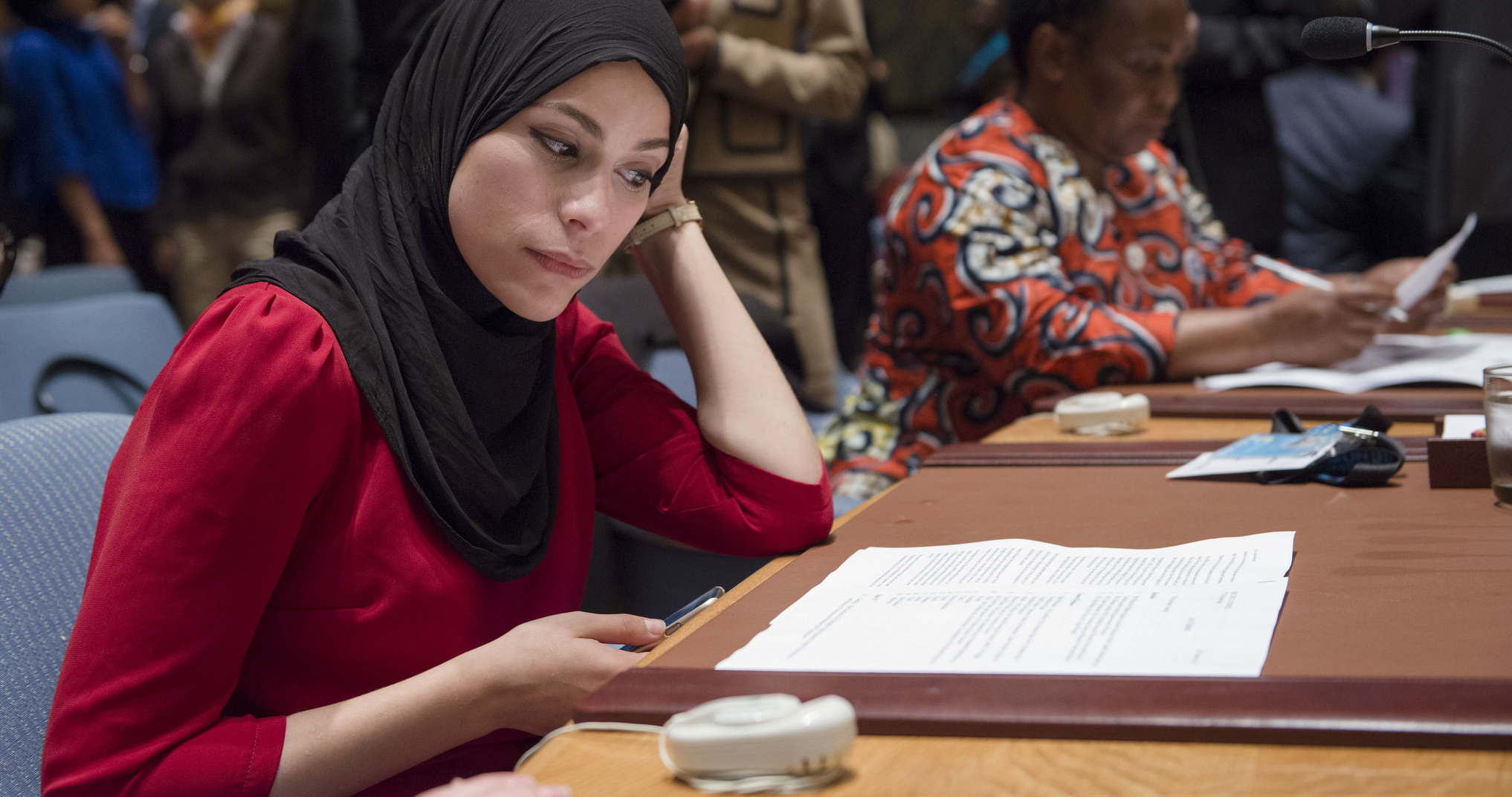 Open debate in the UN Security Council in 2015 on women, peace and security (Photo: UN/Flickr)