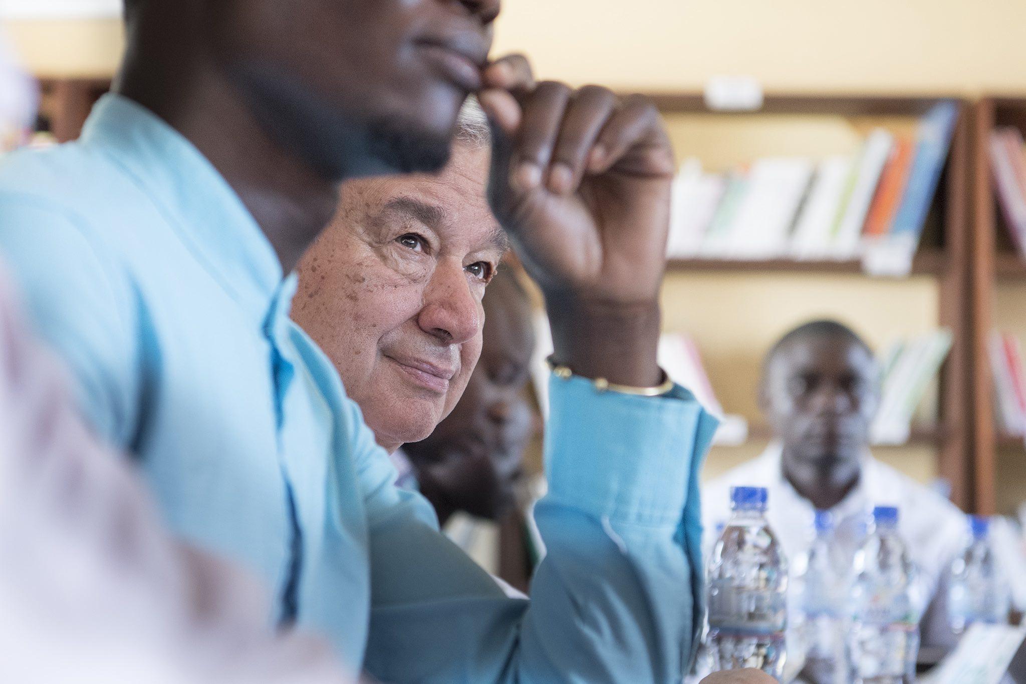 UN Secretary-General Antonio Guterres in Central African Republic in October (Photo: UN Photo)