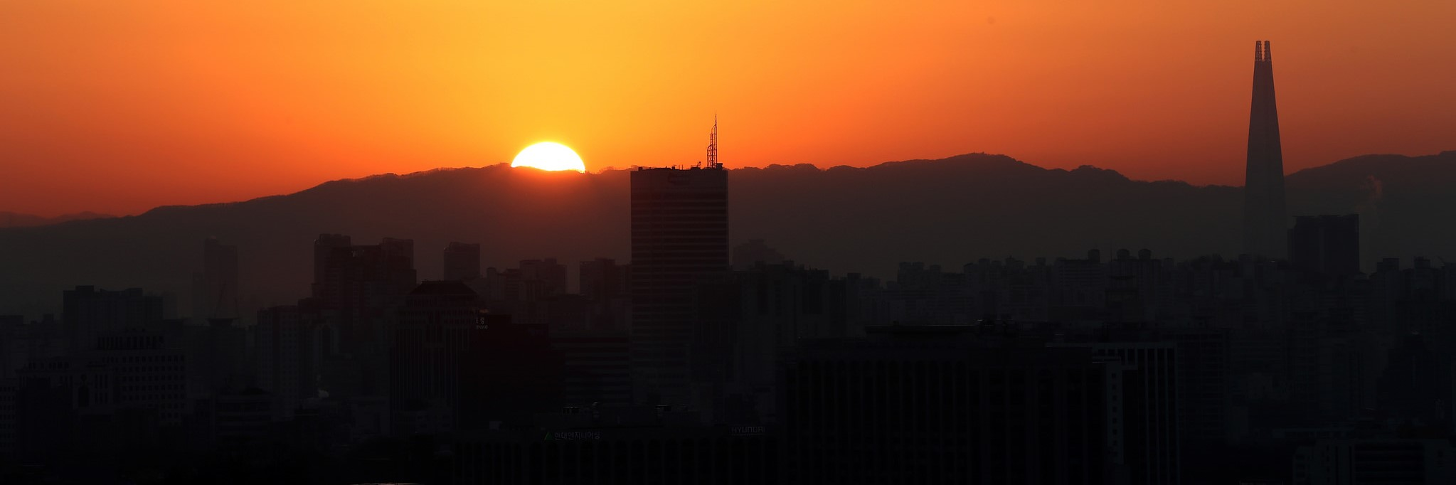 Sunrise in Seoul, January 2018 (Photo: Republic of Korea/Flickr)