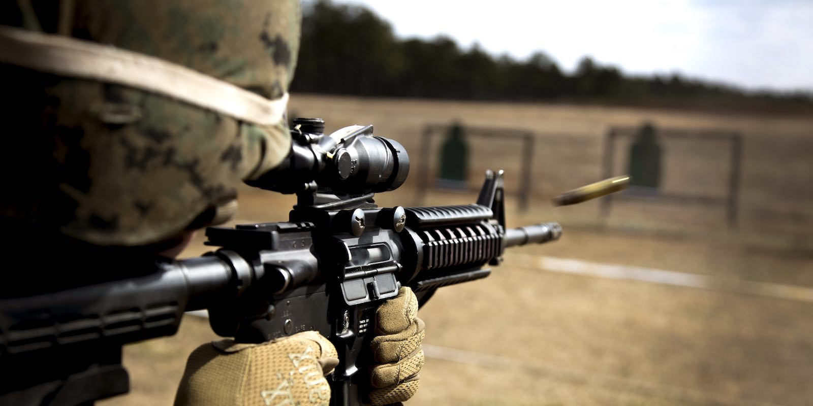 Target practice for the US military 22nd Marine Expeditionary Unit's female engagement team (Marines/Flickr)