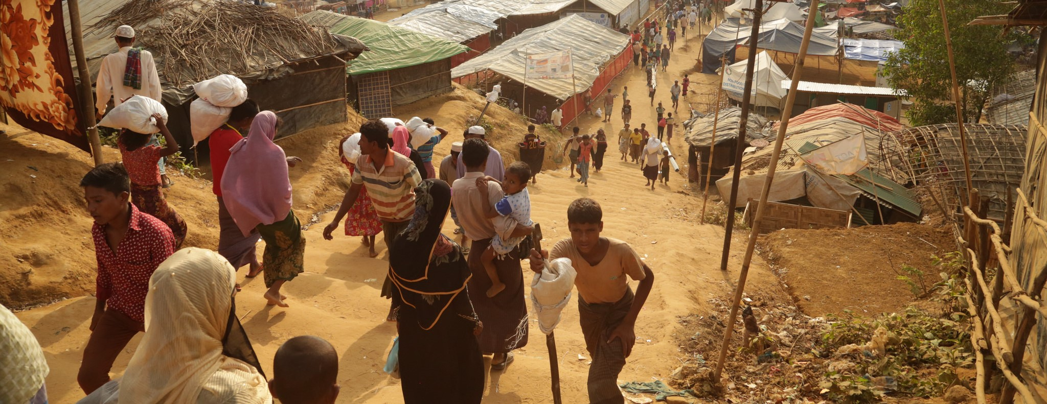A refugee camp in Bangladesh, November 2017 (Photo: Russell Watkins/Department for International Development/Flickr)
