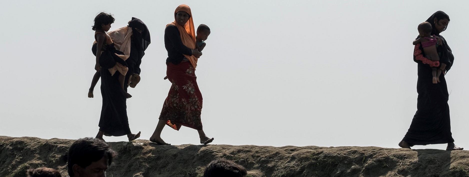 Rohingya refugees in Bangladesh, December 2017 (Photo: Catholic Diocese of Saginaw/Flickr)