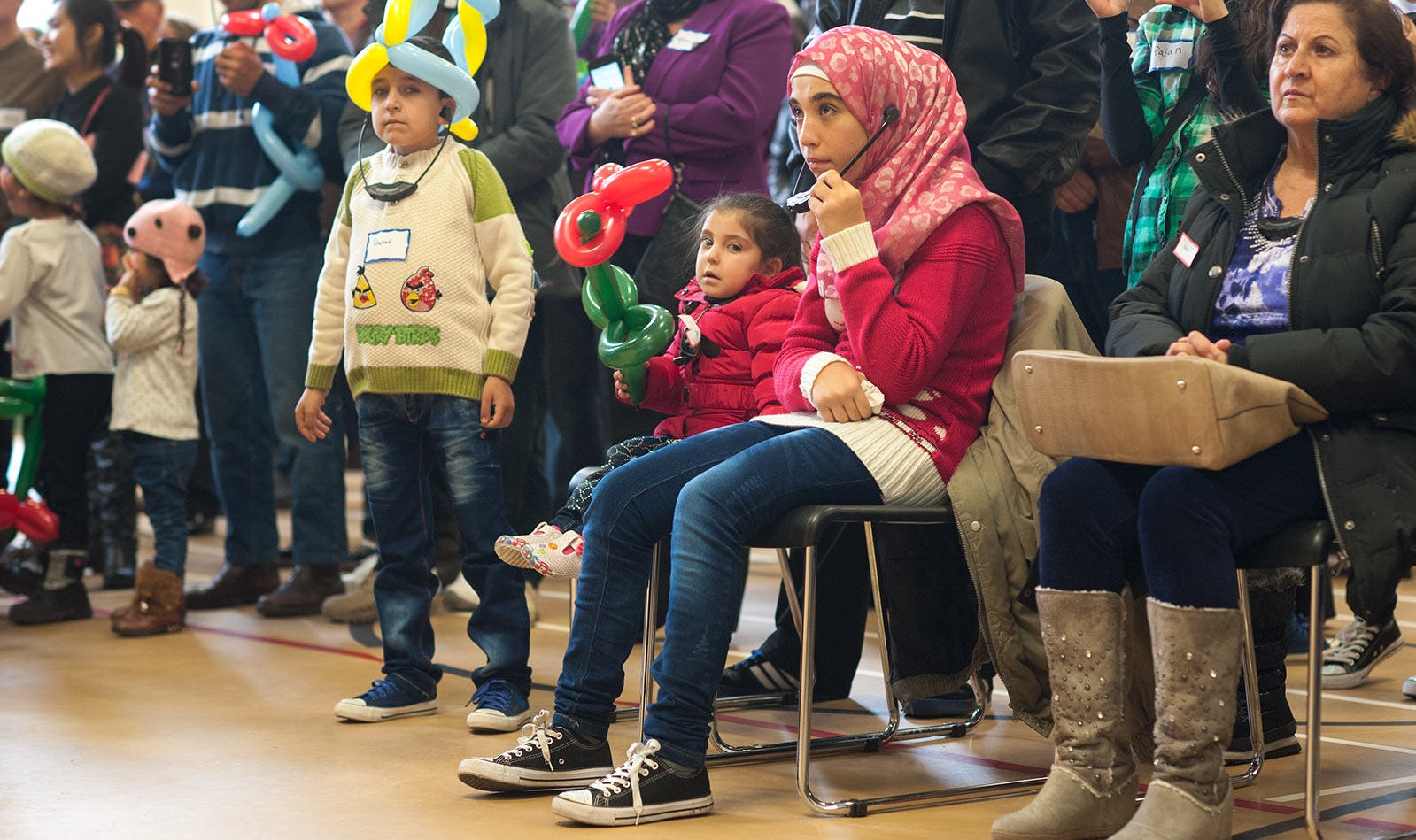 A refugee reception event in Prince Edward Island, Canada, March 2016 (Photo: Flickr/Government of Prince Edward Island)