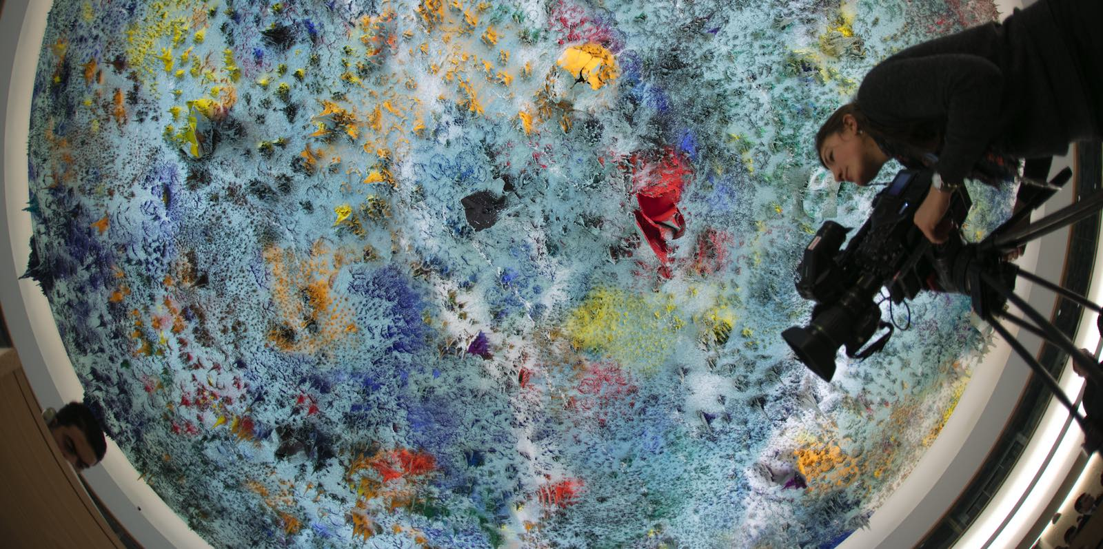 Ceiling art at the UN Human Rights Council, Geneva (Photo: Eric Bridiers/Flickr)