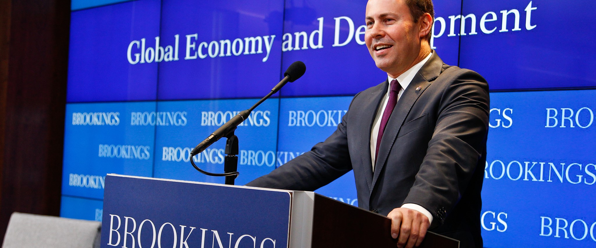 Environment Minister Josh Frydenberg was subject to claims he may be a Hungarian citizen. (Photo: Brookings Institution/Flickr)