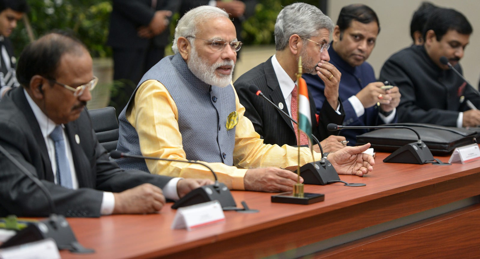 Indian Prime Minister Narendra Modi and Foreign Secretary S Jaishankar, June 2016 (Photo: Flickr/Presidencia de la República Mexicana)