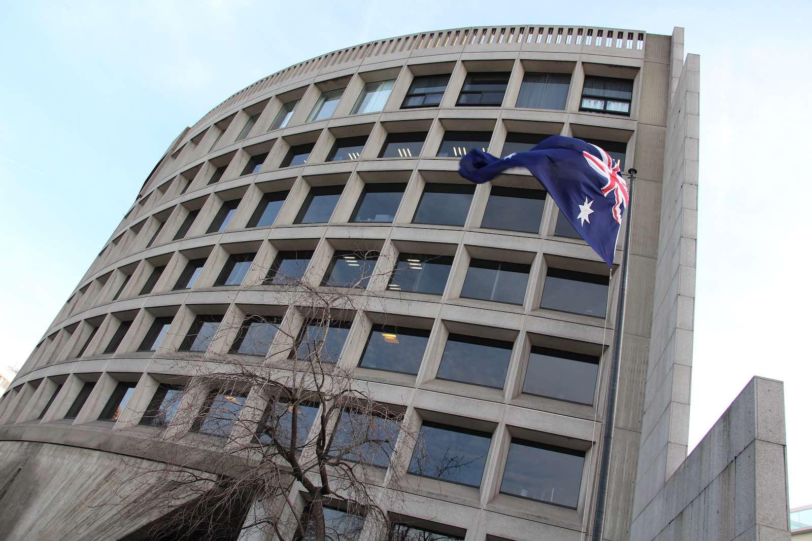 Australia's embassy in France, where former Liberal politician John Spender served as ambassador in the 1990s (Fred Romero/Flickr)