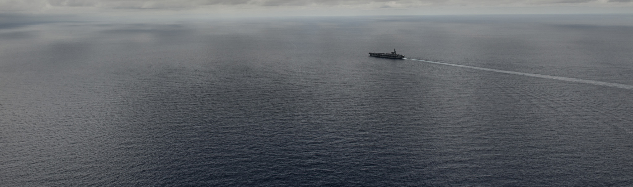 USS Ronald Reagan transits the South China Sea. (Photo: US Navy)