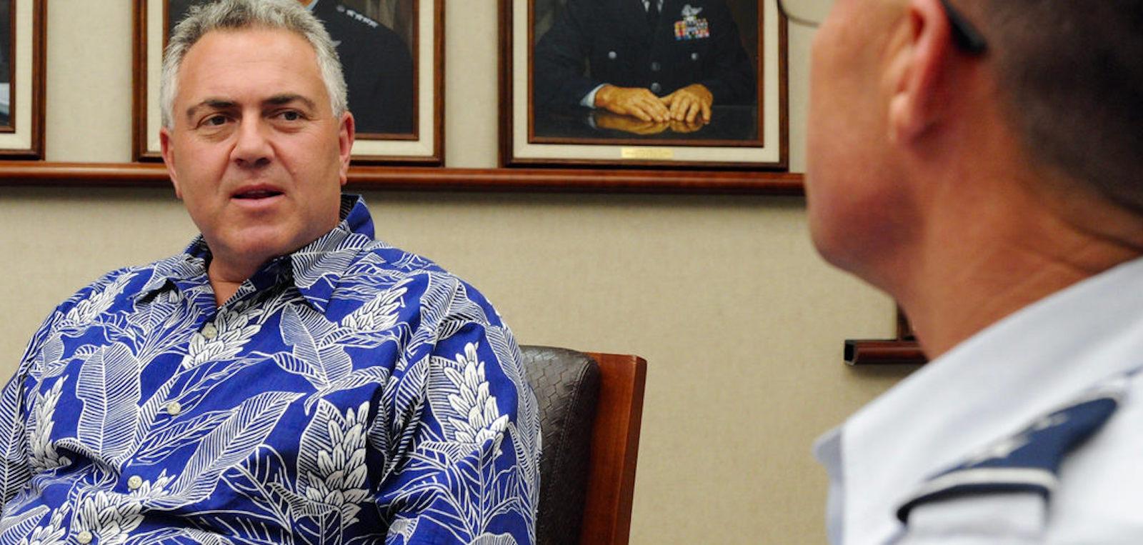 Australian Ambassador to the United States Joe Hockey (Photo: PAF/ Flickr)