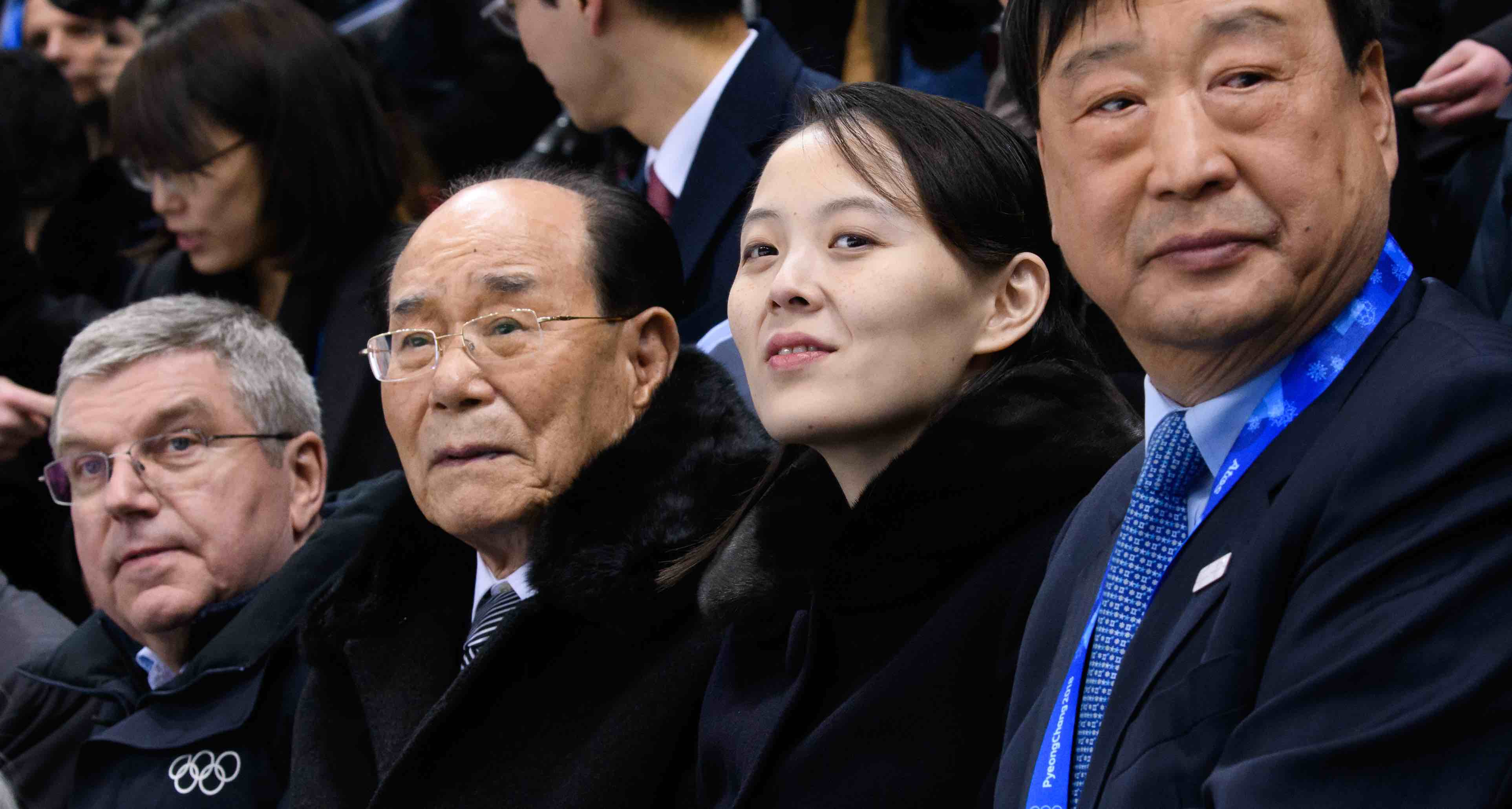 Kim Yo-jong, sister of North Korean leader Kim Jong-un, at the PyeongChang 2018 Winter Olympics (Photo: Republic of Korea/Flickr)