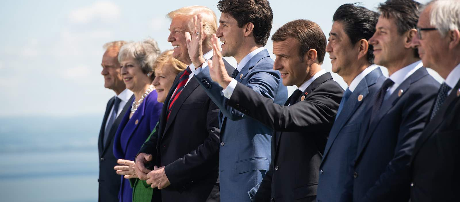 The G7 leaders in 2018, Canada (Photo: GAC-AMC/Flickr)