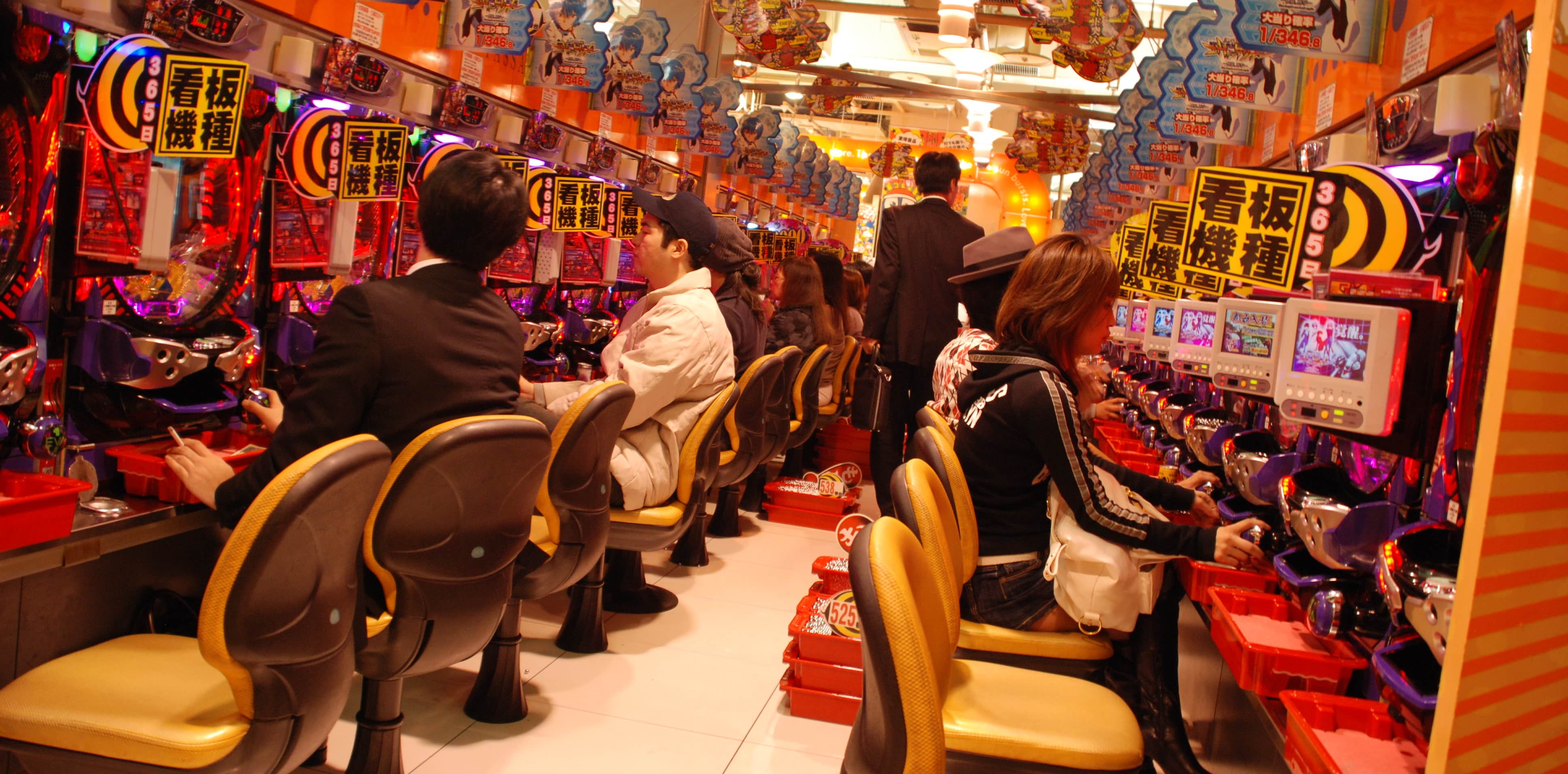 A pachinko parlour in Tokyo (Photo: Or Hiltch/Flickr)