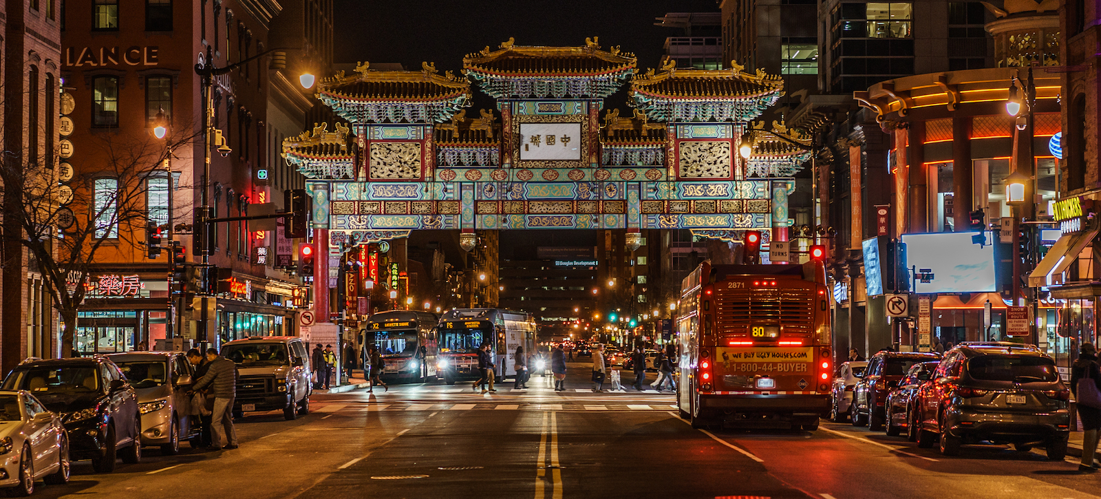 Chinatown, Washington (Photo: Soomness/Flickr)