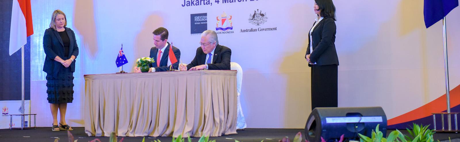 IA-CEPA signing ceremony (Australia Embassy Jakarta/ Flickr)