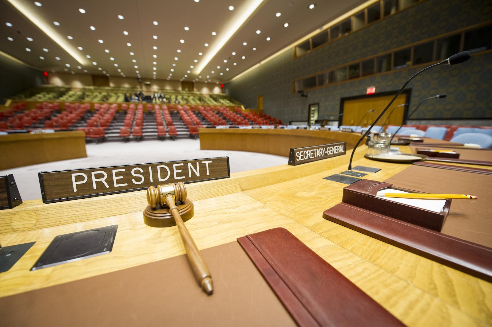 Security Council Chambers at UN Headquarters in New York (Rick Bajornas/UN Photo/Flickr)