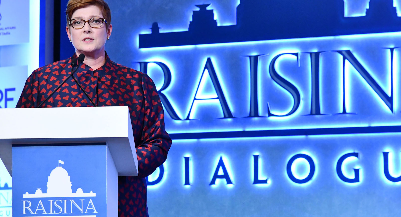 Foreign Minister Marise Payne (Photo: MEA Photography/ Flickr)