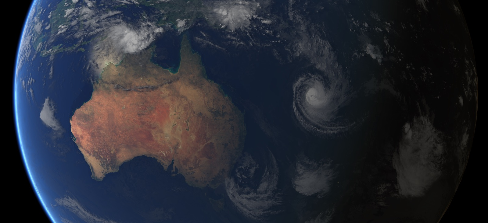 Composite image of Tropical Cyclone Cook, 10 April 2017 (Photo: EUMETSAT/Flickr)