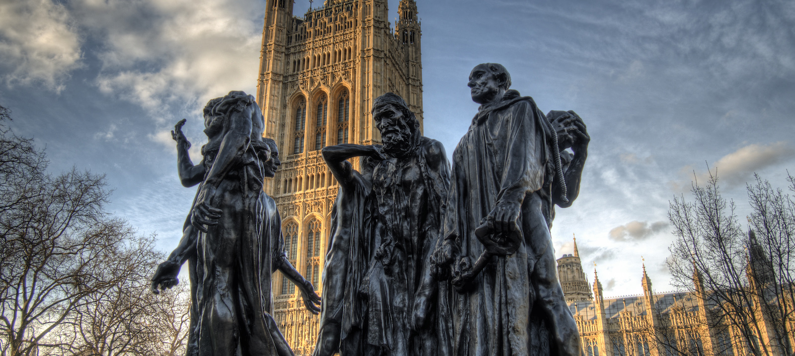 The Burghers of Calais, London (Photo: Neil Howard/ Flickr)