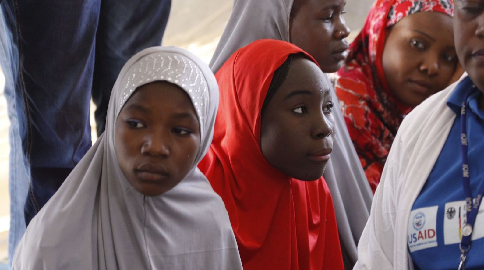 Displaced youth in Nigeria during a 2014 visit by members of the UN Security Council (Photo: Lorey Campese/UK Mission to the UN)