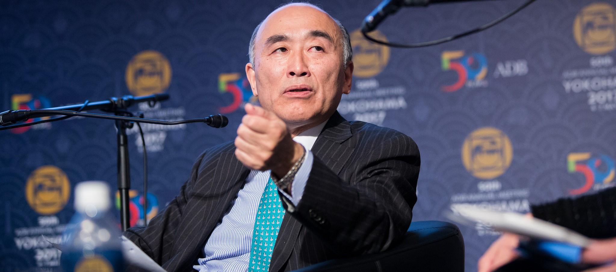 IMF Deputy Managing Director Mitsuhiro Furusawa, May 2017 (Photo: Flickr/ Asian Development Bank)