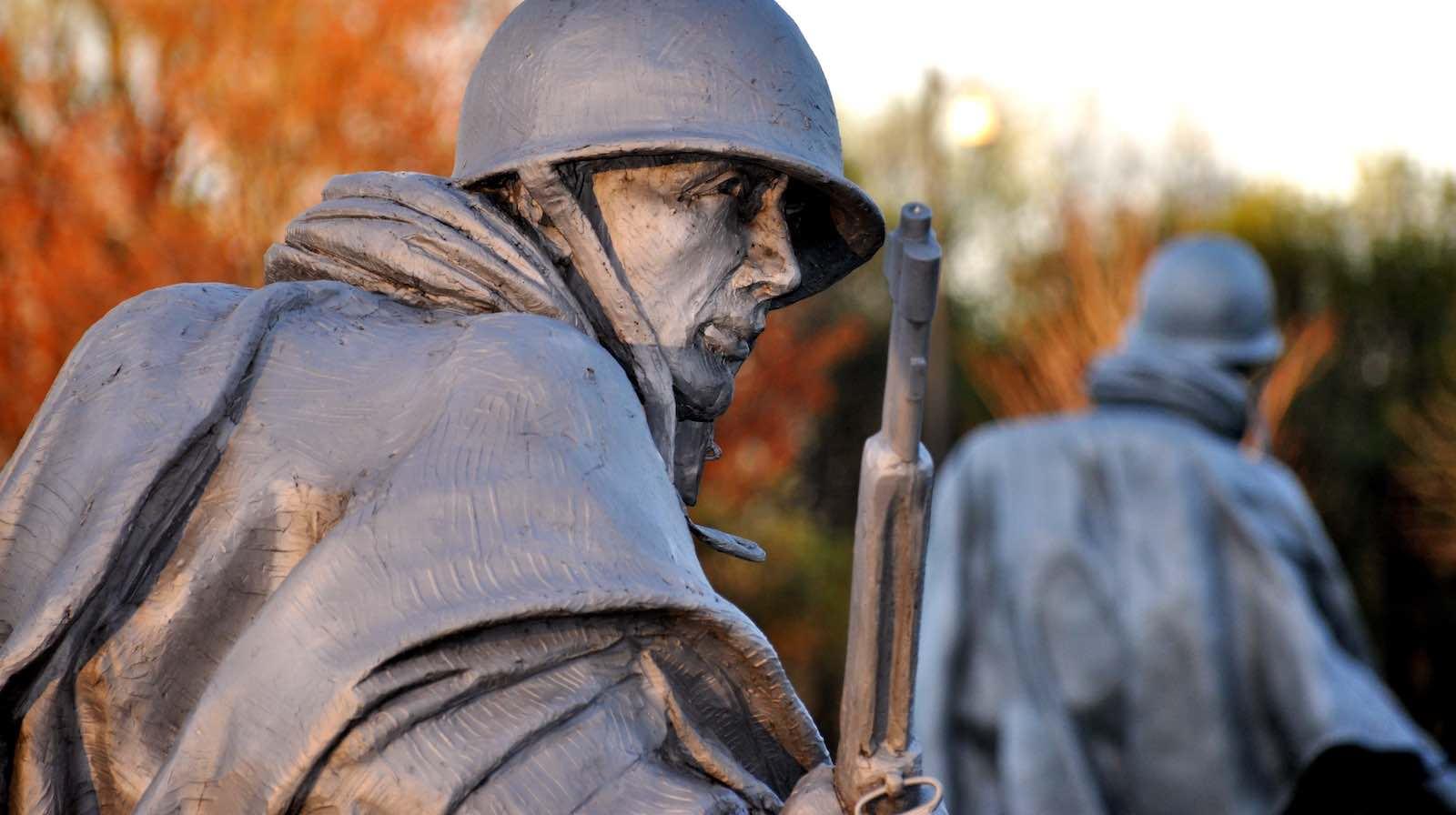 Korean War memorial, Washington DC (Photo: Kevin Burkett/Flickr)