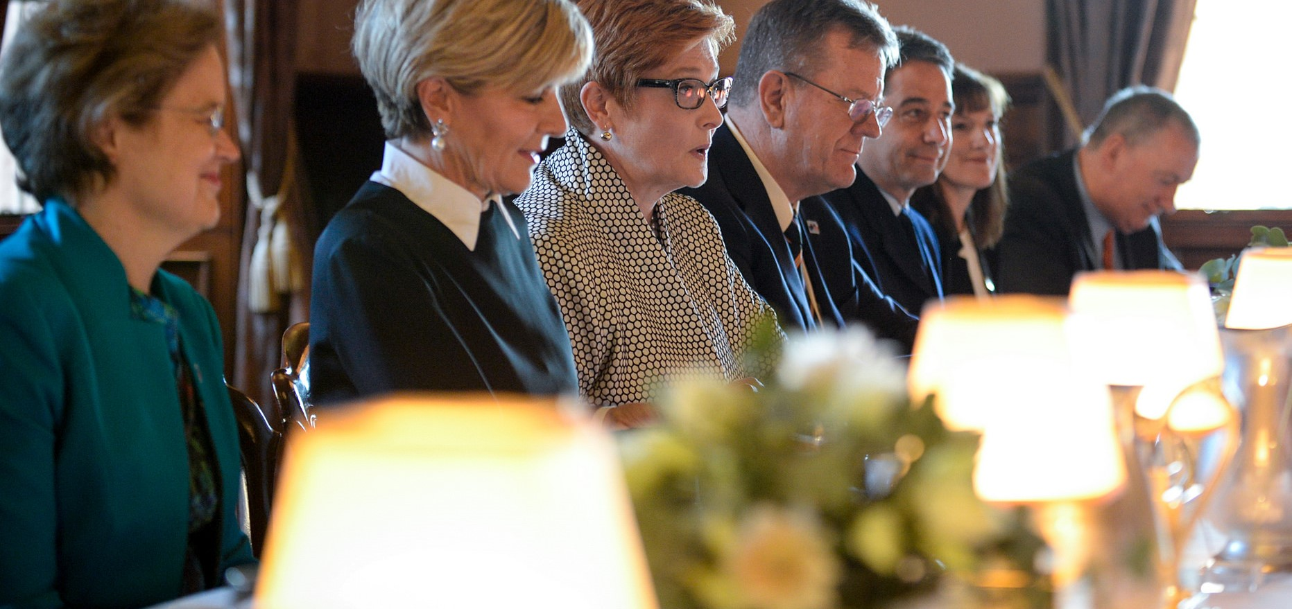 Foreign Minister Julie Bishop and Defence Minister Marise Payne in talks with US counterparts (Photo: US State department/Flickr)