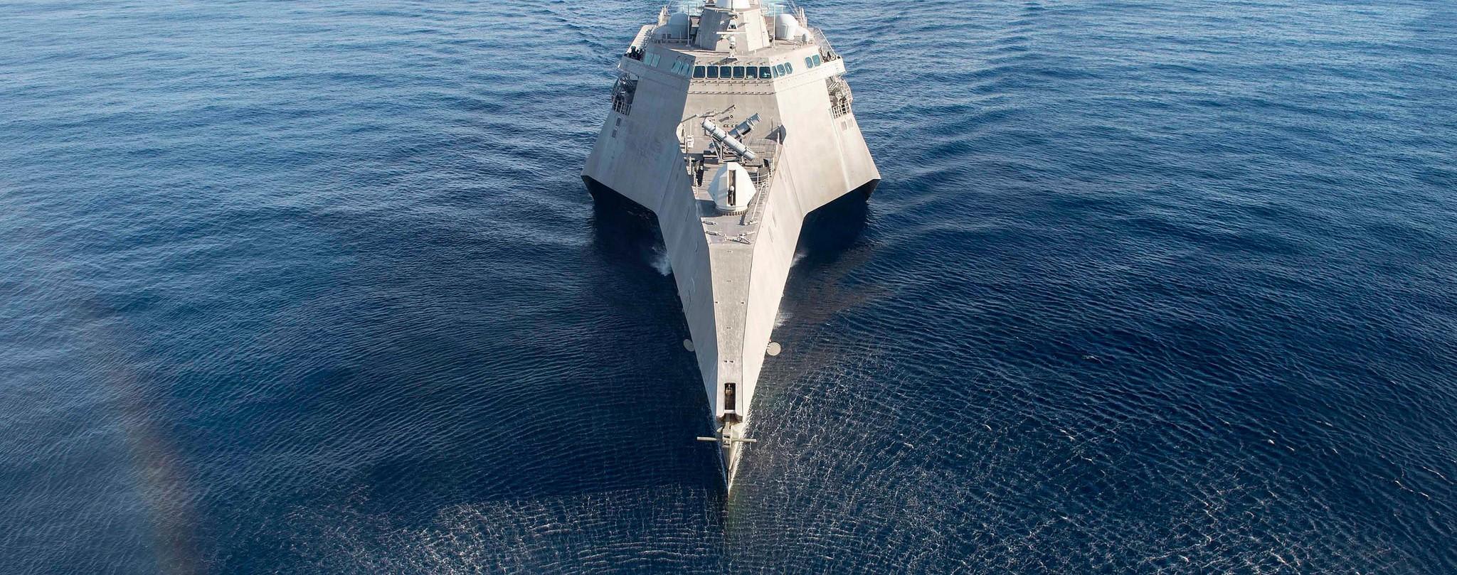 The USS Coronado the South China Sea, May 2017 (Photo: Flickr/US Pacific Fleet)