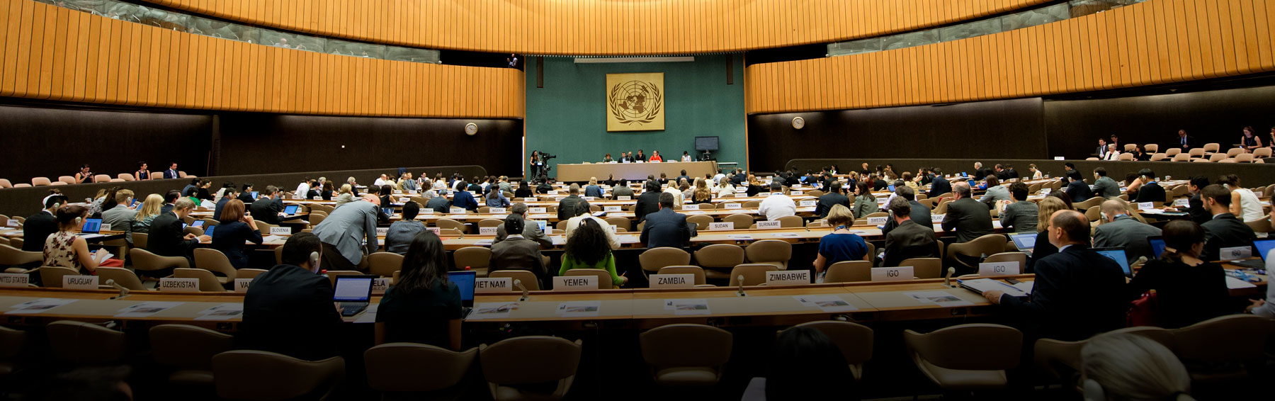 Talks on the Global Compact on Migration (Photo: UN Geneva/Flickr)