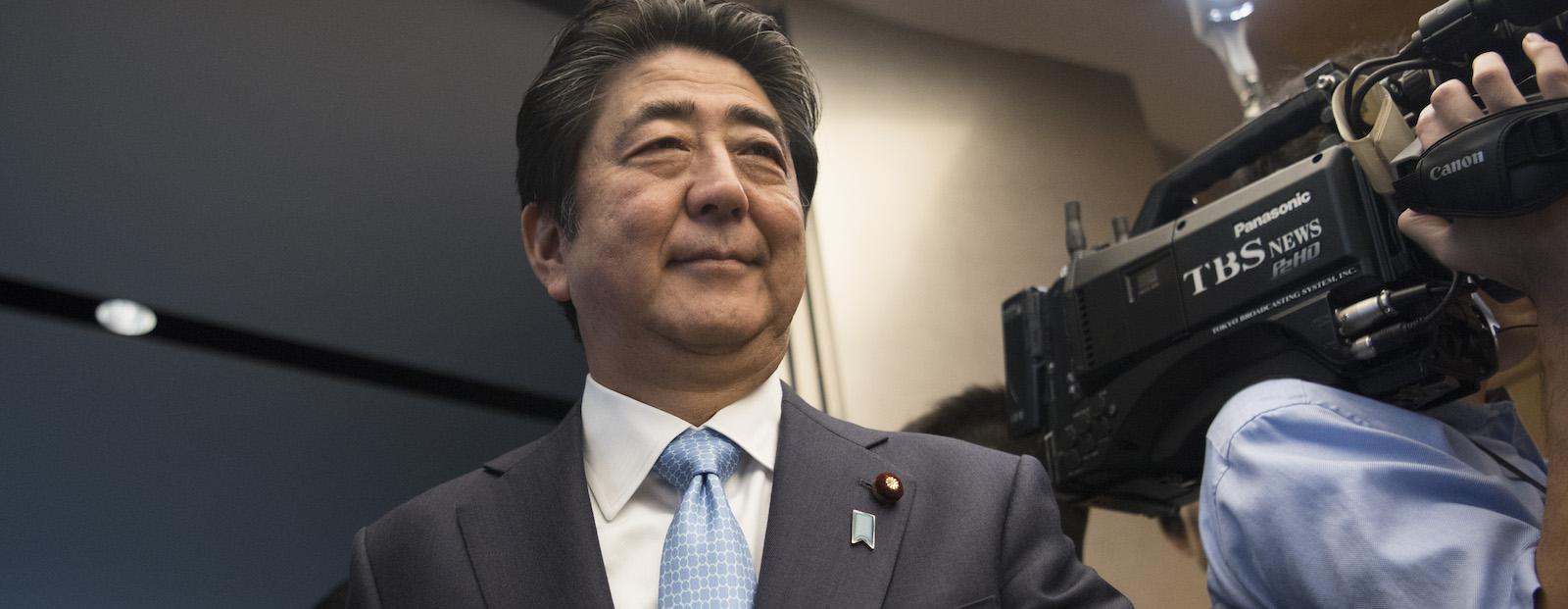 Japanese Prime Minister Shinzo Abe (Photo: CJCS/ Flickr)