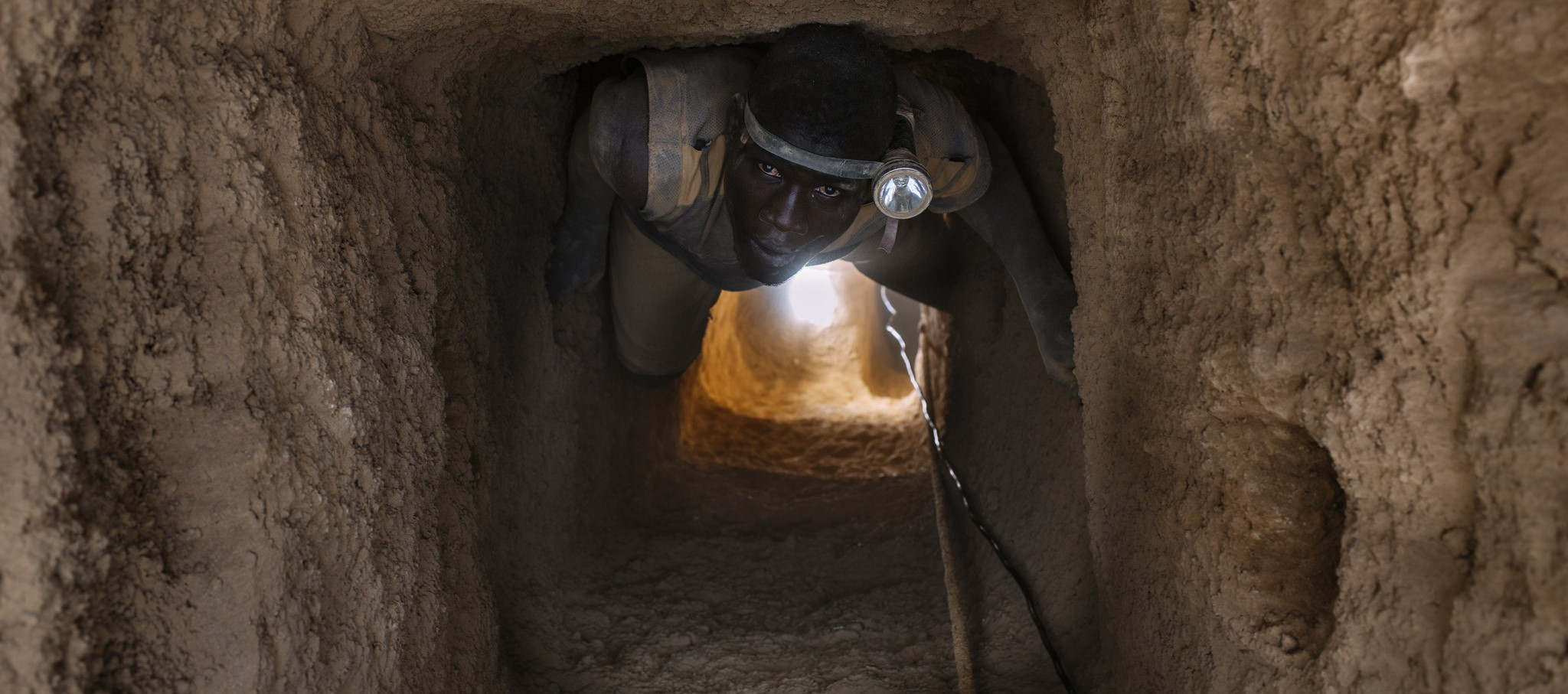 A gold miner in Burkina Faso, 2013 (Photo: CIFOR/Flickr)