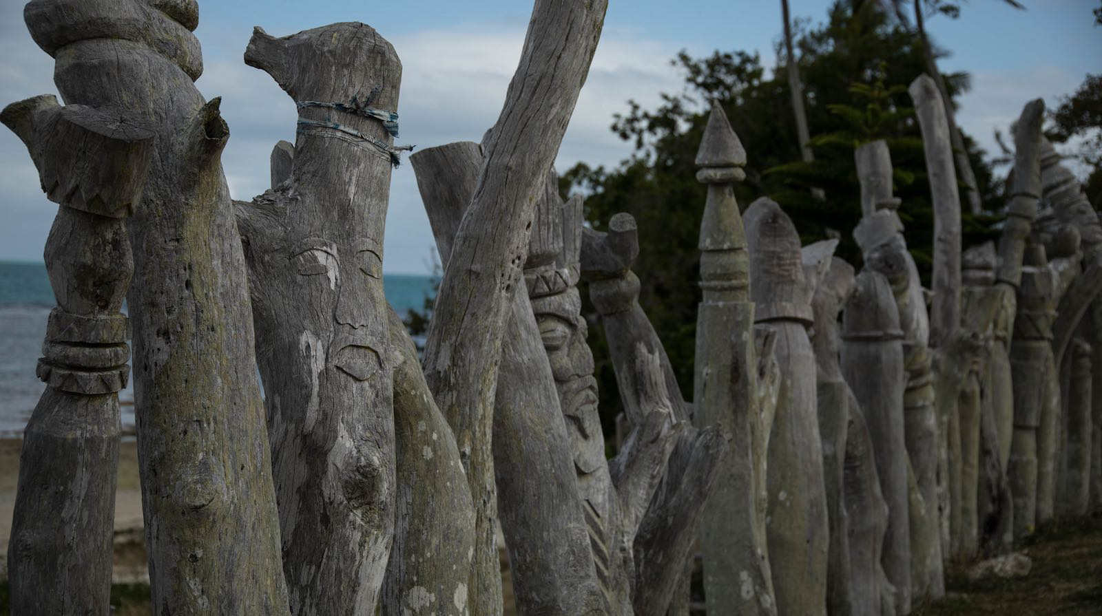 Sculptures at Vao, New Caledonia (Photo: Chris Hoare/Flickr)
