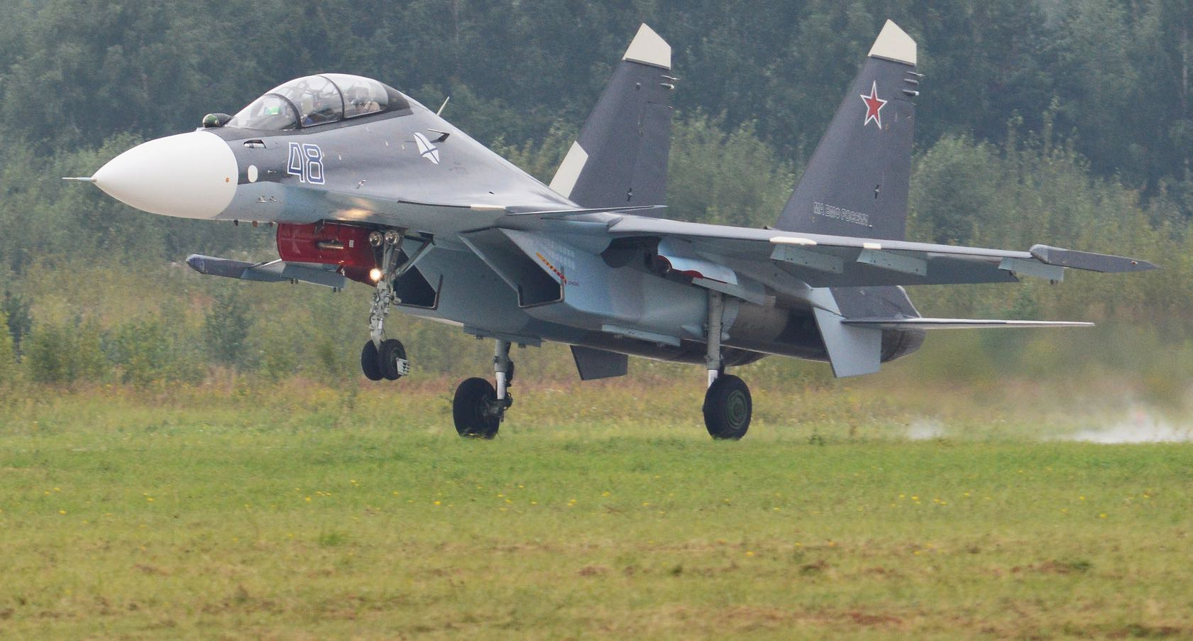 SU-30SM: Russia has struck a $400 million deal to sell military jets to Myanmar (Photo: Alan Wilson/Flickr)