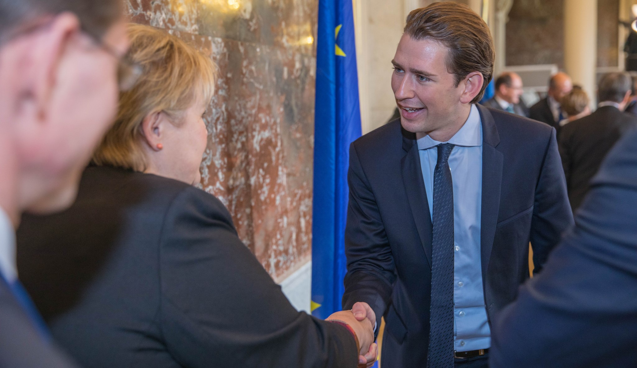 Incoming Chancellor of Austria Sebastian Kurz, October 2017 (Photo: European People's Party/Flickr)