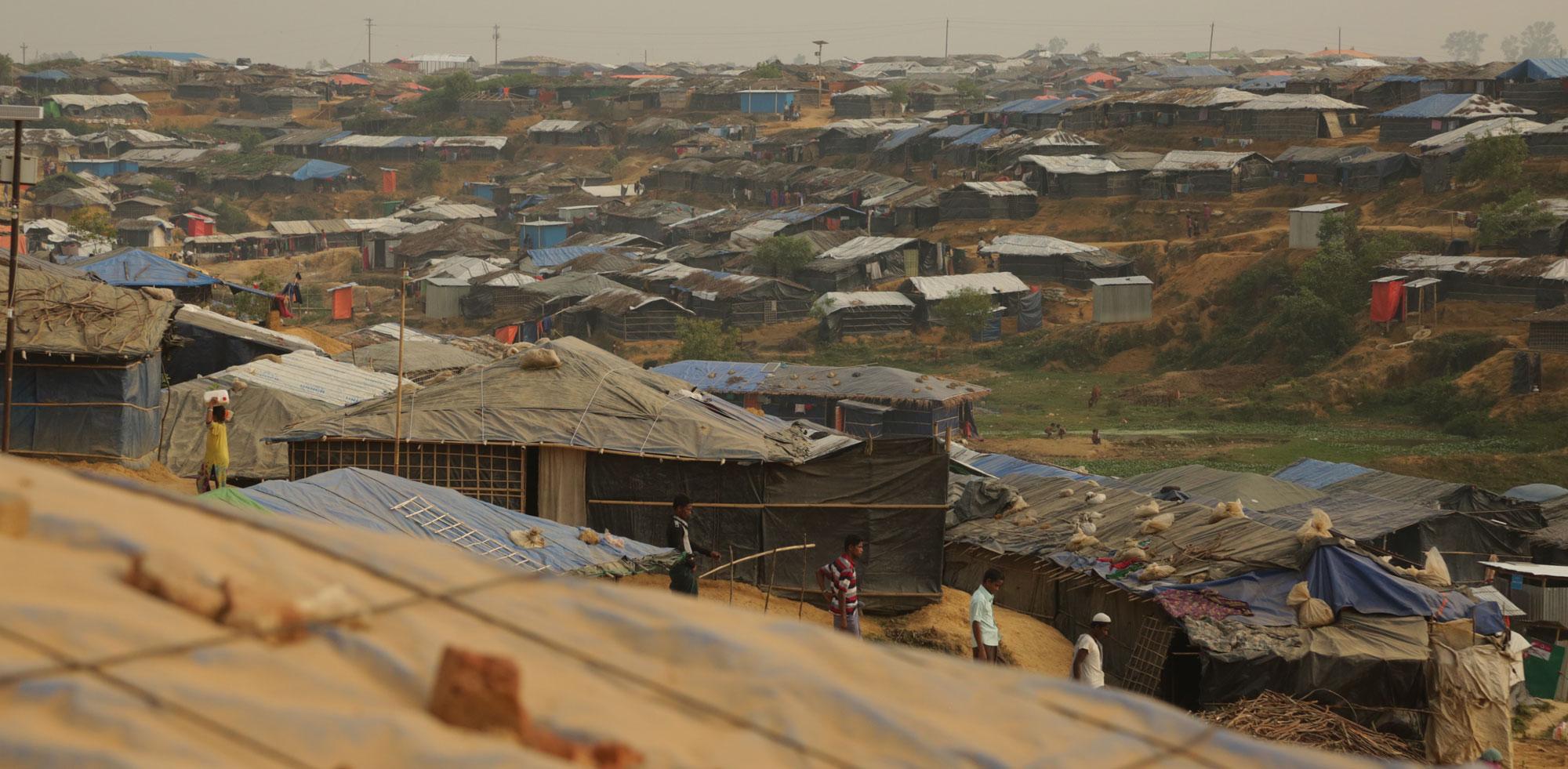 Kutupalong refugee camp near Cox's Bazar, Bangladesh (Photo: Russell Watkins/Department for International Development/Flickr)